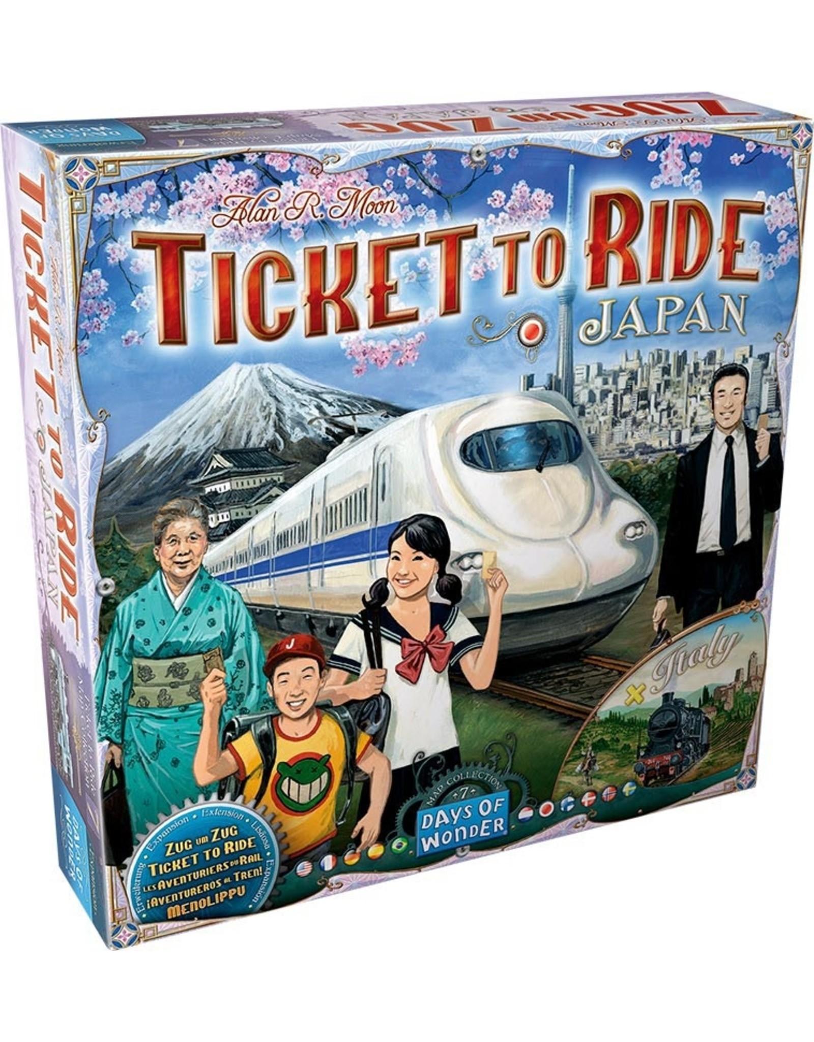 Days of Wonders Aventuriers du Rail - Extension Japon et Italie