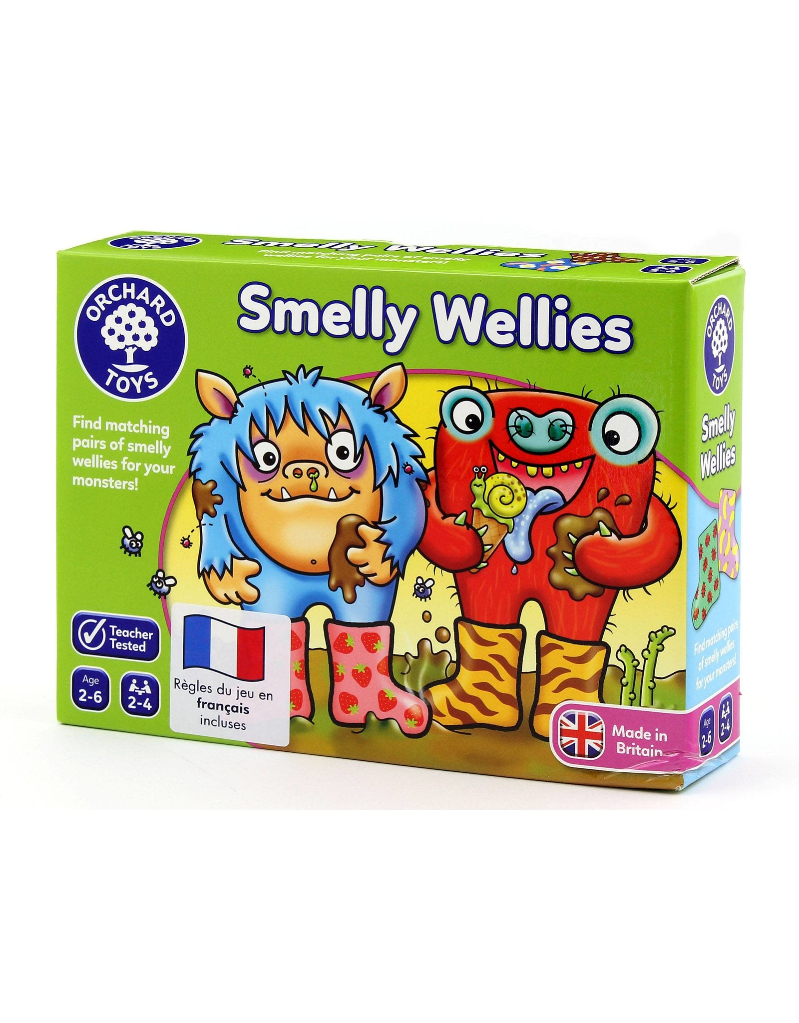 Orchard Toys Smelly Wellies (Jeu des monstres)
