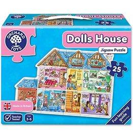 Orchard Toys Maison de poupées - Casse-tête de plancher 25mcx