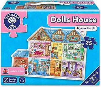 Maison de poupées - Casse-tête de plancher 25mcx
