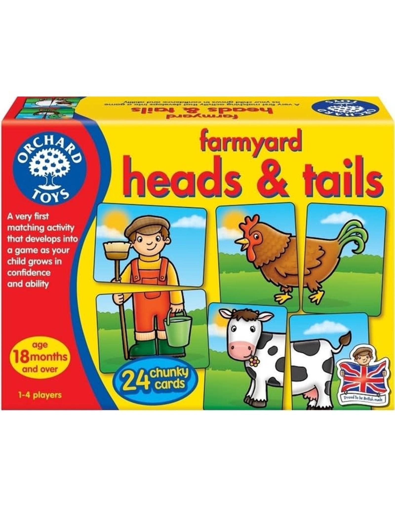 Orchard Toys Ferme - Têtes et queues
