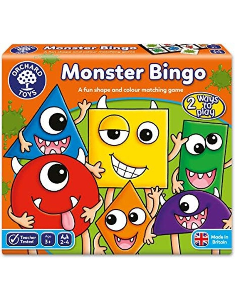 Orchard Toys Bingo des monstres