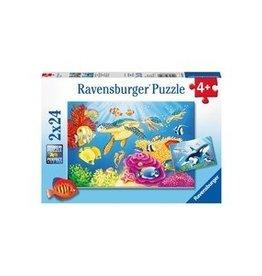 Ravensburger Monde sous-marin coloré 2x24mcx
