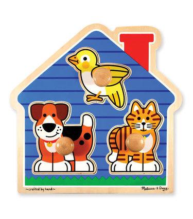 Melissa et Doug Puzzle à gros boutons - Animaux domestiques