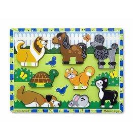Melissa et Doug Puzzle à grosses pièces - Animaux domestiques