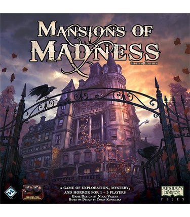 Edge Mansion of Madness 2nd edition (Anglais)