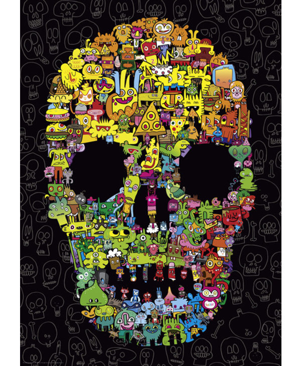 Doodle Skull 1000mcx