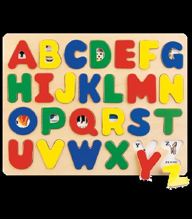 Casse-tête en bois - Alphabet
