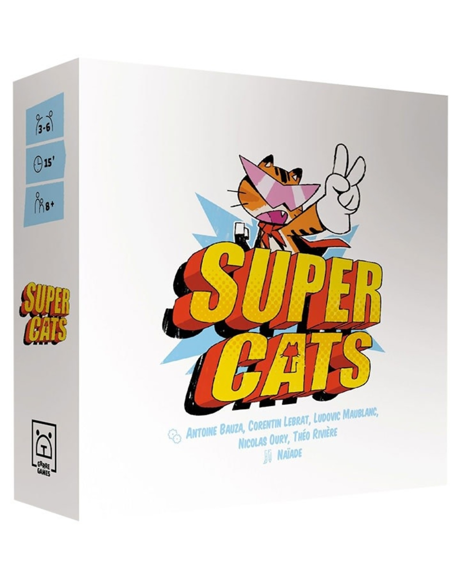 Grrre Games Super Cats (Français)