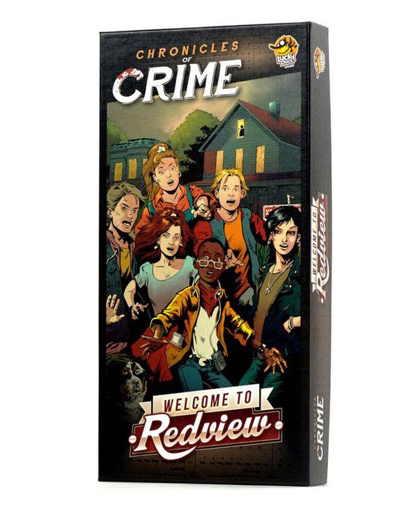 Chronicles of Crime Ext. Welecome to Redview (Fançais)