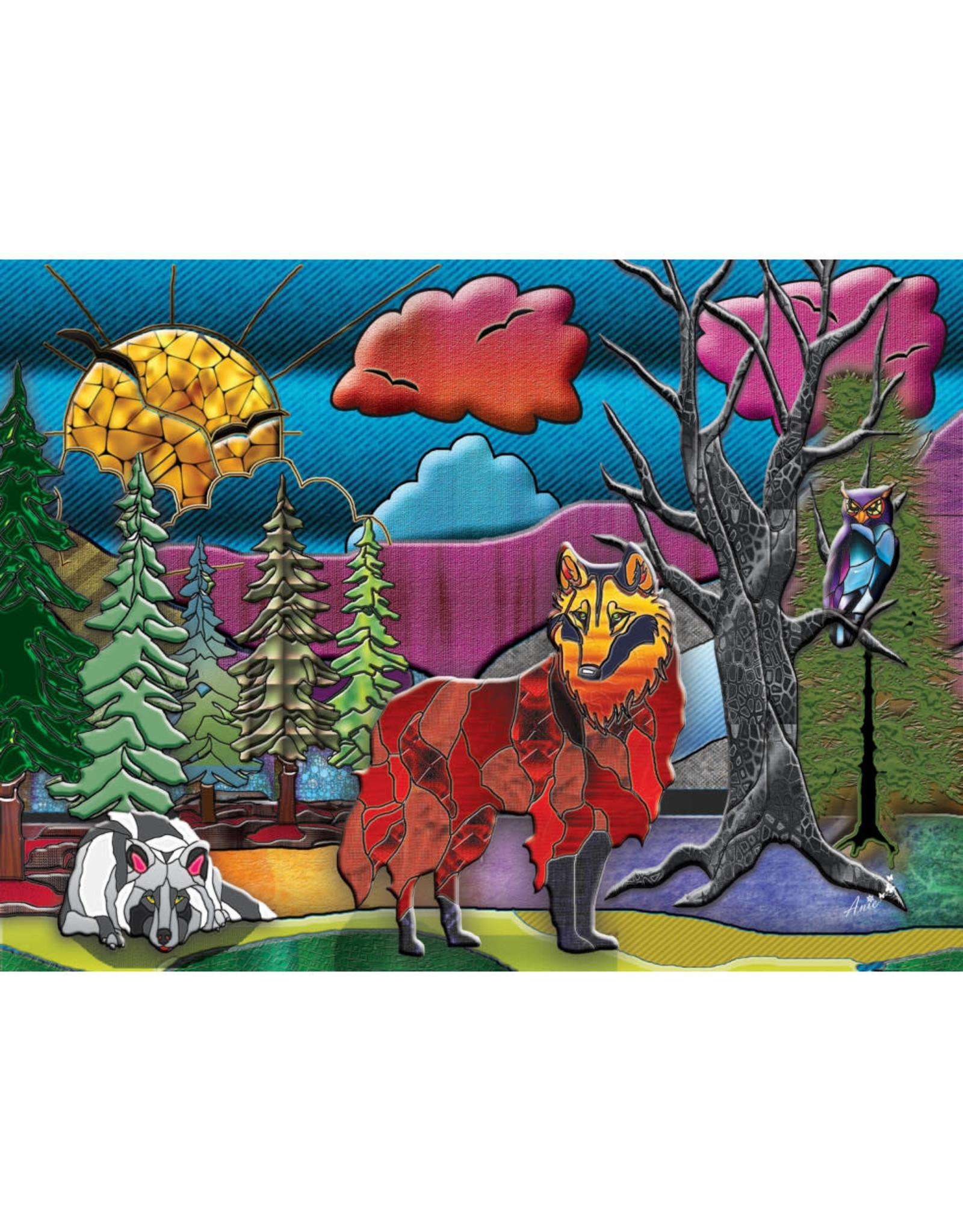 Jacarou Puzzles Loups - Jacarou