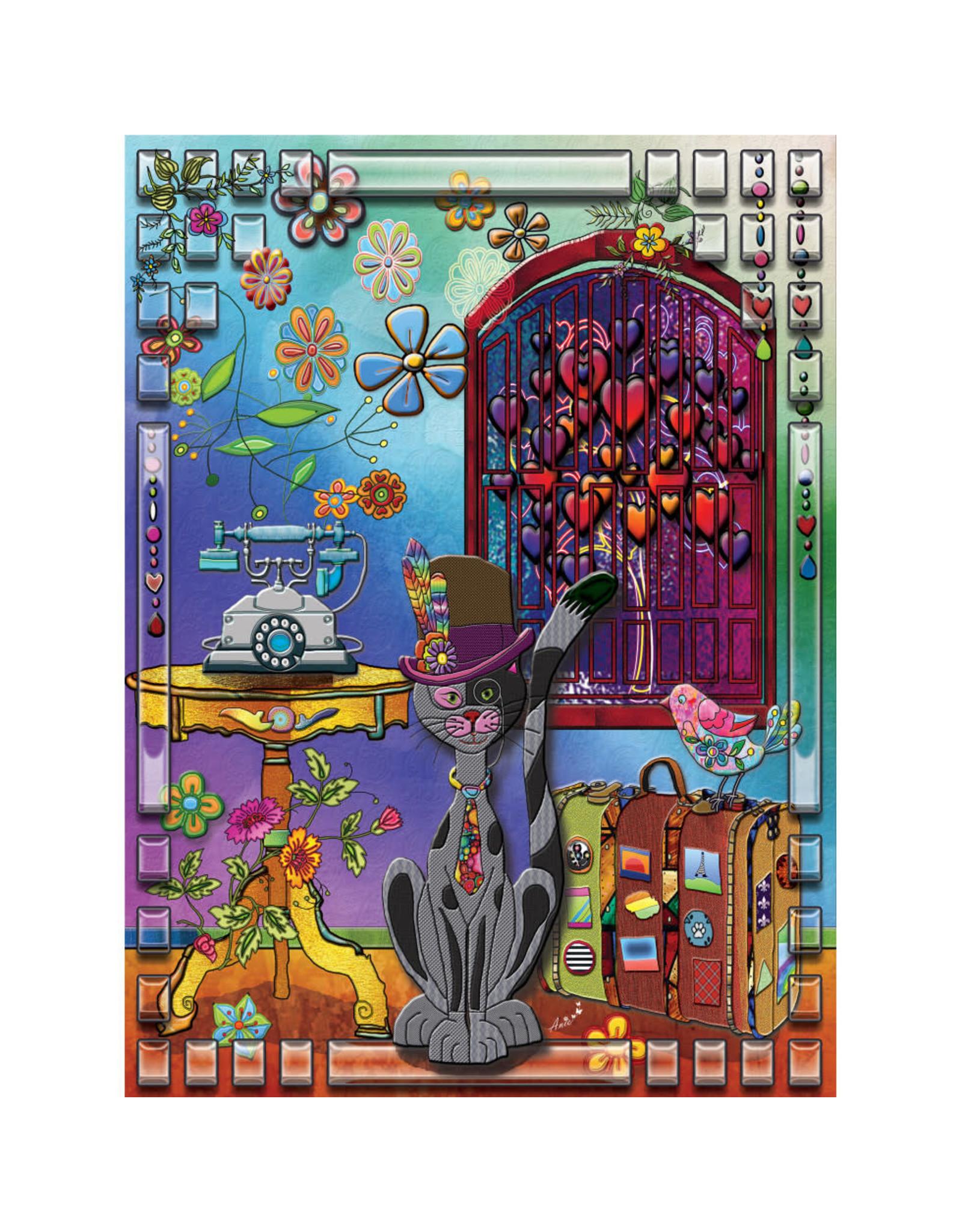 Jacarou Puzzles Le Globe Trotter - Jacarou