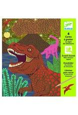 Djeco Carte à Gratter - Le règne des dinosaures