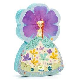 Djeco Puzzle silhouette - La princesse du printemps 36mcx