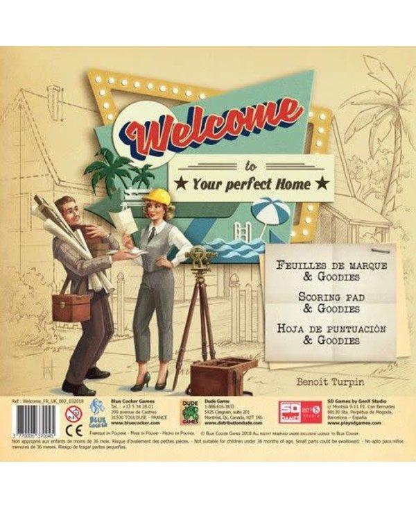 Welcome - Feuilles de marque et Goodies