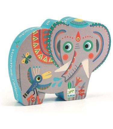 Djeco Éléphant d'Asie 24mcx