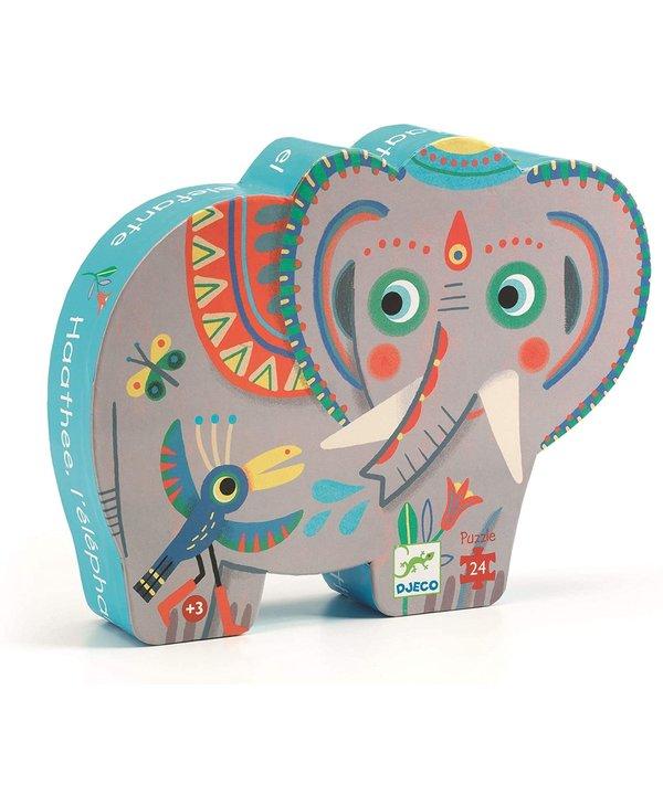 Éléphant d'Asie 24mcx