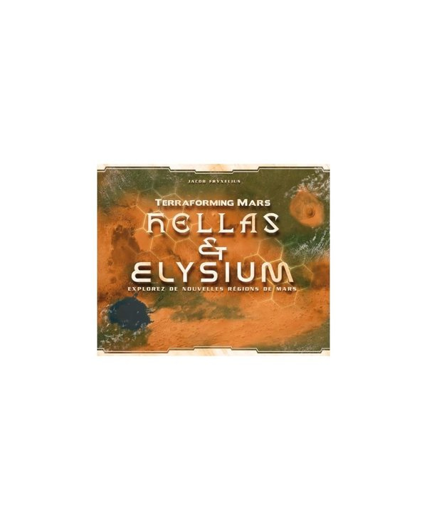 Terraforming Mars - Hellas et Elysium (Français)
