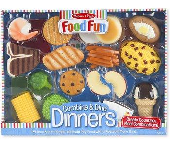 Food Fun - Ensemble de Dîner