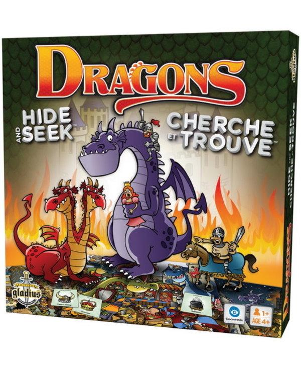 Cherche et Trouve - Dragons