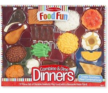 Food Fun - Ensemble de Dîner - Rouge