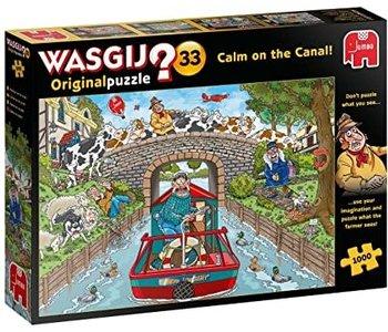 Wasgij Original No.33 Panique sur le Canal! 1000mcx