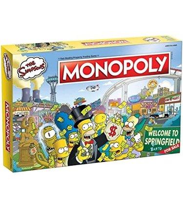 Monopoly Simpsons (Anglais)