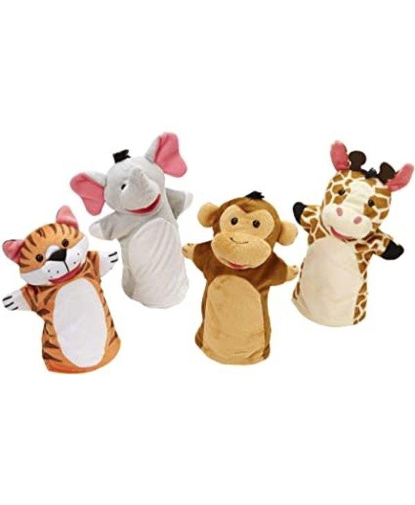 Marionnettes - Amis du zoo