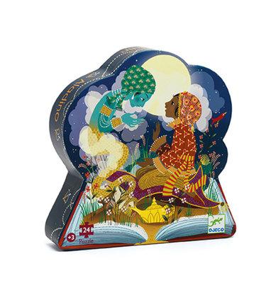 Djeco Puzzle Silhouette -  Aladin 24mcx