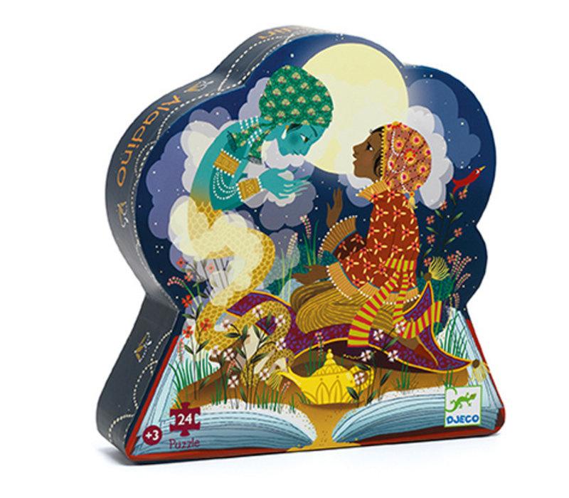 Puzzle Silhouette -  Aladin 24mcx