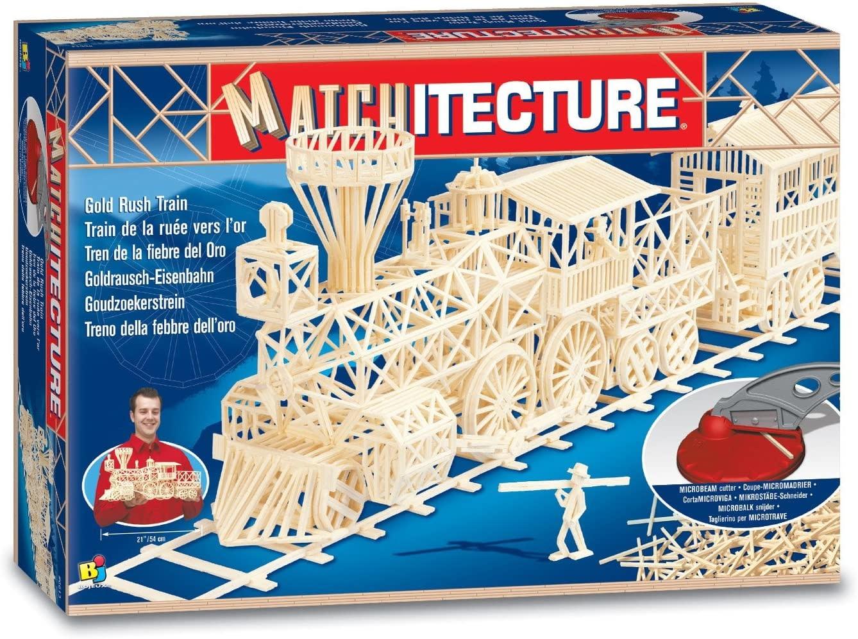 Matchitecture - Train de la ruée vers l'or