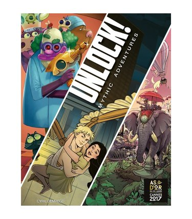 Unlock ! Mythic Adventures (Français)