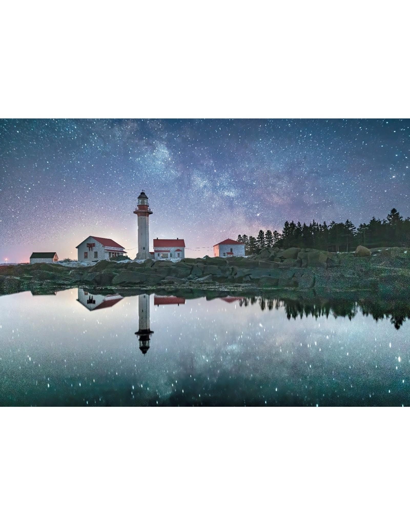 Phare sous la Voie Lactée