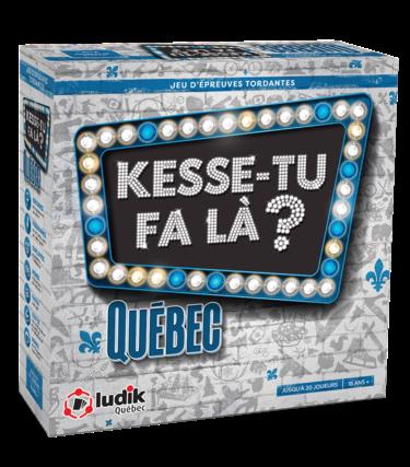 Ludik Québec Kesse-tu fa là ? - Québec