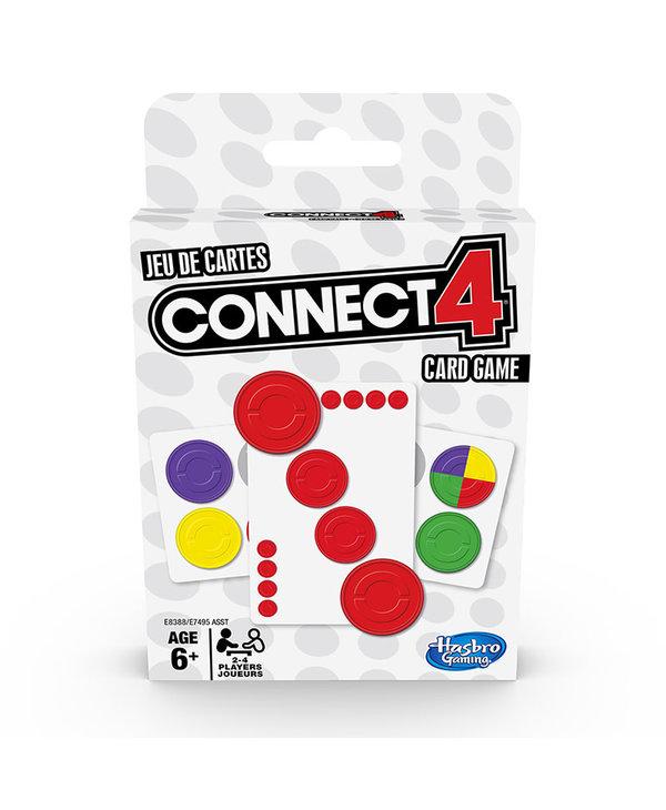 Connect 4 - Jeu de cartes (Multilingue)