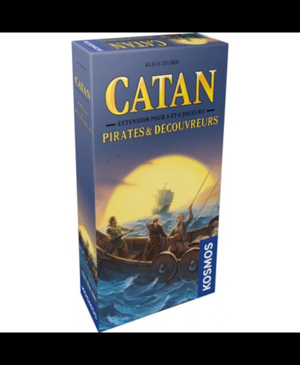 Catan - Extension - Pirates et Découvreurs - 5-6 joueurs (Français)