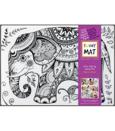 Funny Mat Un Éléphant - Funny Mat