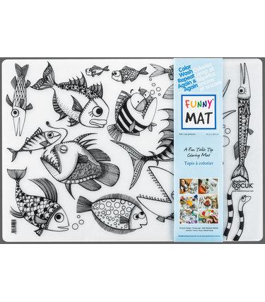 Funny Mat Les Poissons - Funny Mat