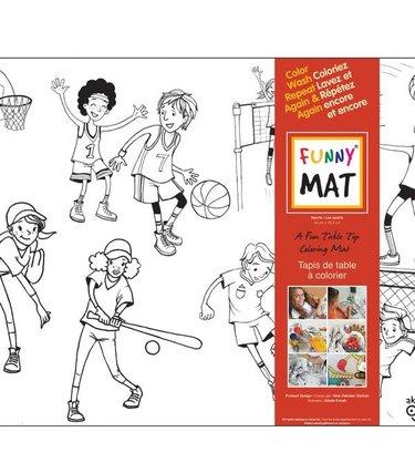 Funny Mat Les Sports - Funny Mat