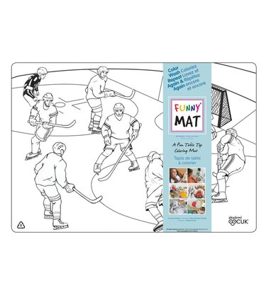 Funny Mat Hockey sur glace - Funny Mat