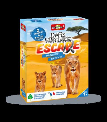 Défis Nature Escape - Mission Survie