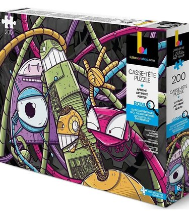 Lalita's Art Shop Casse-Tête - Robots - 200mrcx