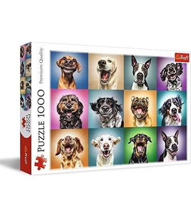 Portraits de chiens amusants - 1000mcx