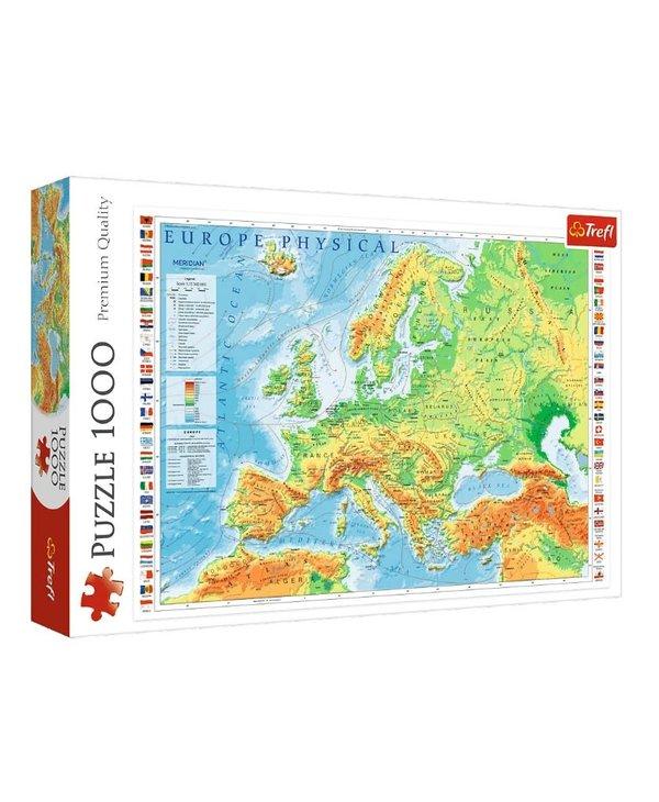Carte de l'Europe - 1000mcx