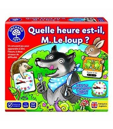 Orchard Toys Quelle heure est-il monsieur le loup?