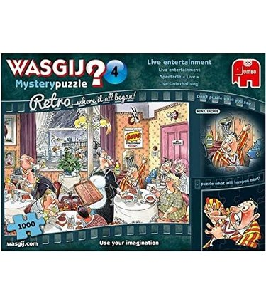 Wasgij Mystery No.4 - Spectacle Live 1000mcx