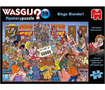 Wasgij Mystery No.19 Bingo Blunder! 1000mcx