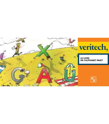 Kinésis Éducation Le livre de l'alphabet muet - Veritech
