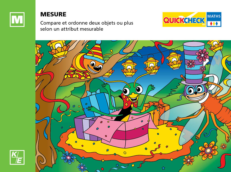 Mesure - Maternelle - Quickcheck