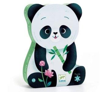 Puzzle Silhouette - Léo le panda 24mcx